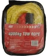 Maypole Tow Rope 4000kg x 4m - 6097A
